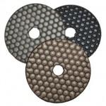 Diamant Schuurpad droog gebruik korrel 50 Graniet / marmer