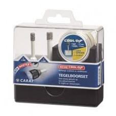 Carat Tegelboorset voor accu boormachines 6 en 8 mm