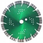 Diamantschijf 300mm met 16mm Turbo-segmenten